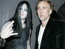Nicolas Cage se synem Westonem v roce 2008