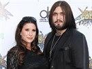 Weston Cage s těhotnou manželkou Danielle