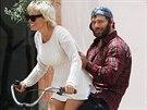 Pamela Andersonová a Rick Salomon ještě v červnu vypadali jako velmi zamilovaný pár.