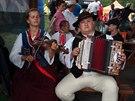 Gorale, kteří vyplňovali odpočinek místním folklórem