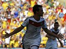 RADOST Z GÓLU. Německý stoper Mats Hummels oslavuje trefu, díky níž jeho tým ve...