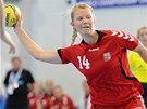 Česká házenkářka Kamila Kordovská na mistrovství světa juniorek.