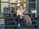 Majitelka Monika se svým psem