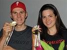 Jaroslav Kulhavý coby světový šampion a Tereza Huříková se bronzem z maratonu na horských kolech.