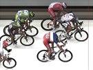 Marcel Kittel si jede pro vítězství ve čtvrté etapy na Tour de France.