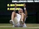 TO SNAD NENÍ MOŽNÉ. Petra Kvitová, dvojnásobná wimbledonská vítězka