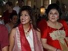 Ferdinand, Immee a Imelda Marcosovi (Filipíny, 2. července 2014).