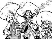 Takto v 70. letech ztvárnil slavné mušketýry Antonín Šplíchal. Komiks, který...