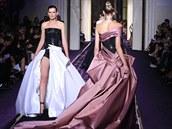 Versace Haute Couture: podzim-zima 2014/2015