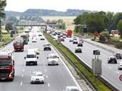 N�mecká dálnice A9 na severu Mnichova. (ilustra�ní foto)