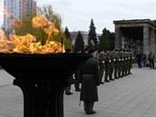 Pohřeb Milana Štěrby, který padl v Afghánistánu (27. března 2008)