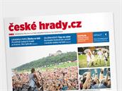 Příloha MF DNES České hrady.cz