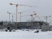 Stavba reaktoru BN-800 v roce 2010