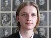 Student Jan Škvarka přednášel o příběhu bratrů Mikešových v Městském muzeu ve...