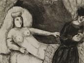 Biblická grafika Marka Chagalla