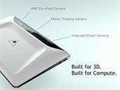 Vývojářská verze tabletu pro projekt Tango běžící na čipu Nvidia Tegra K1,...