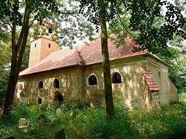 Kostel sv. Ji�� v��esk� ��sti nedalek� vys�dlen� obce Pelh�imovy