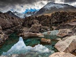 Fairy Pools, Isle of Skye, Skotsko