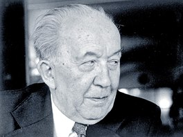 Liter�rn� historik V�clav �ern� na sn�mku z roku 1968
