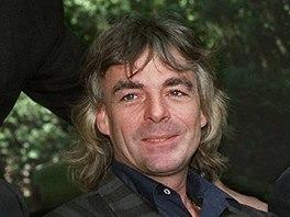 Rick Wright, jeden ze zakladatelů kapely Pink Floyd - archivní snímek z roku