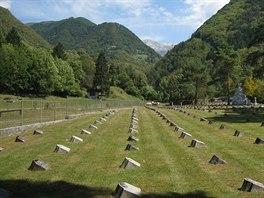 Vojenský hřbitov v Loče