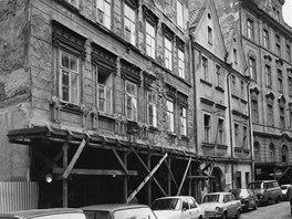 Pohled z Bartolomějské ulice - původní stav