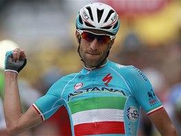 L�DR. Vincenzo Nibali nastoupil v z�v�ru druh� etapy zbytku bal�ku a po
