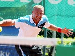 Roman Jebavý vyhrál tenisové mistrovství České republiky ve dvouhře.