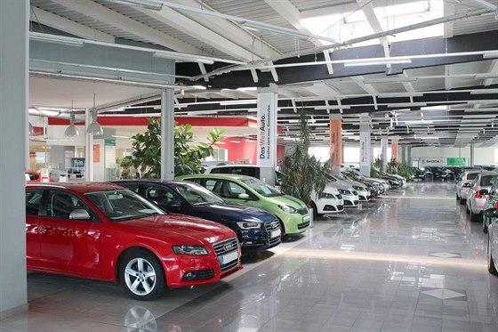 AUTO JAROV prodává ojeté vozy obdobně jako nové