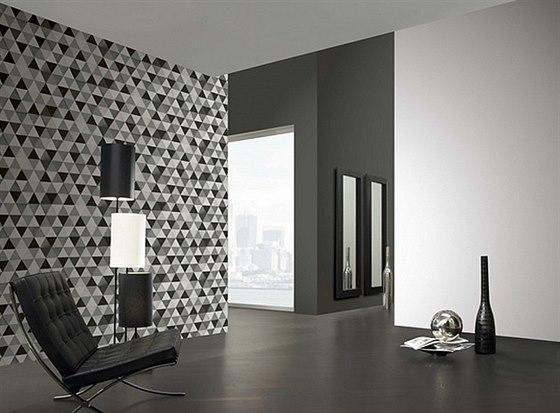 Moderní vliesové tapety na zeď! V hlavní roli geometrie.