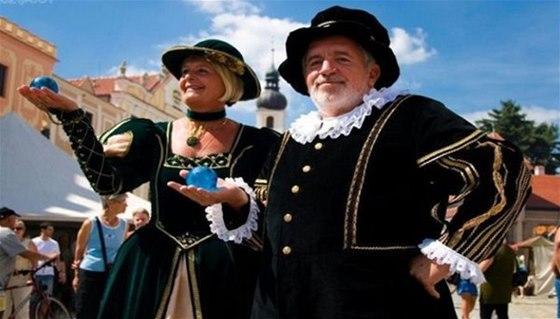 Další telčskou letní akcí jsou Historické slavnosti Zachariáše z Hradce a
