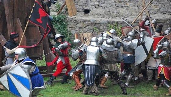 Gotická bitva o hrad Hukvaldy