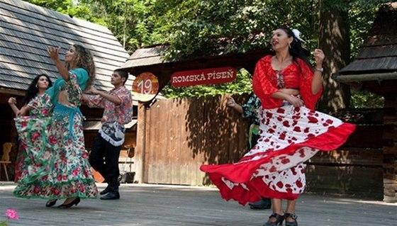 Mezinárodní festival Romská píseň ve skanzenu Rožnov pod Rashoštěm