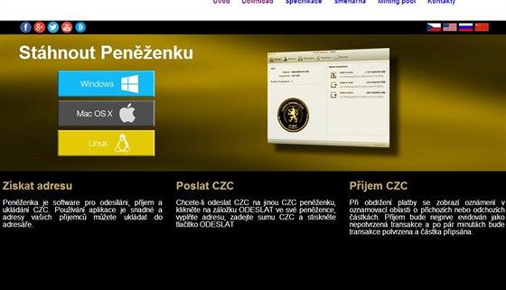 Prvn� virtu�ln� m�na v �esku nese n�zev Czech Crown Coin.