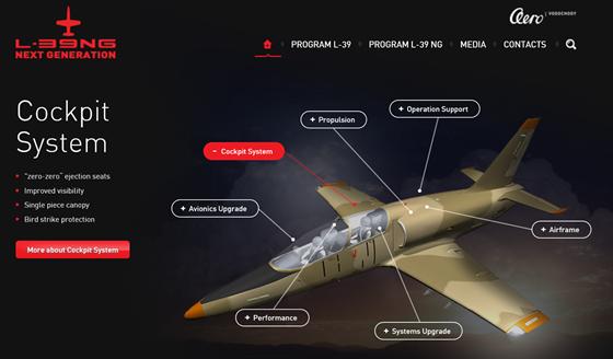 Novinka z Aero Vodochody L-39 NG.