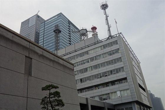 Budova tokijsk� centr�ly JMA.