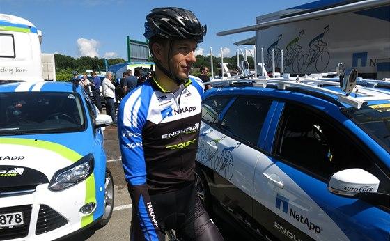 P�ED TR�NINKEM. Leopold K�nig se ve voln�m dni na Tour de France chyst� na