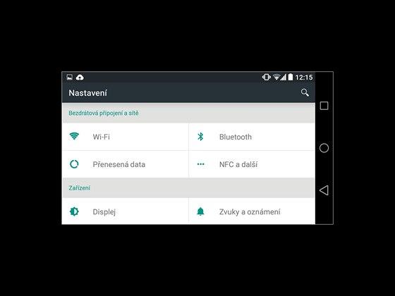 Uživatelské prostředí systému Android L