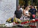 Obyvatelé Moskvy truchlí za oběti havárie metra, při které zahynulo 22 lidí...