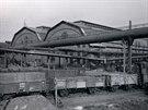 Dvojhalí na historickém snímku z roku 1924.