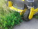 Vjeďte i do vyšší trávy, při optimální rychlosti posekáte až 8 000 m2 pozemku...