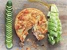 Křupavý lososový koláč z listového těsta podle receptu Jamieho Olivera