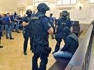 Závěr soudního procesu s únosci podnikatelů, které vedl Michael Šváb. (16....