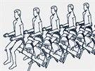 Airbus plánuje instalovat do letadel na krátké přelety sedadla podobná těm z...