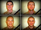 Vojáci padlí v Afghánistánu: nahoře rotmistr David Beneš a četař Ivo Klusák,...