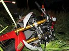 Na Trutnovsku zemřel motorkář. Zřejmě nezvládl rychlost.