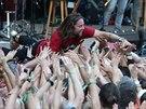 Kapela Kry�tof na sv�m festivalu nazvan�m Kemp v N�m�ti na Han� (12. �ervence...