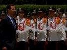 Bašár Assad složil prezidentskou přísahu. (16. července 2014)