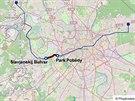 Modrá trasa moskevského metra