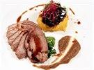 Sou��st� t��chodov�ho menu restaurace Palazzo je na festivalu J�dlo z bl�zka...